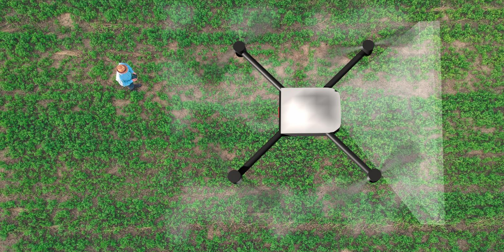 CROP SPRAYING WITH DRONES – How a national initiative has become a success story with international scaling possibilities.